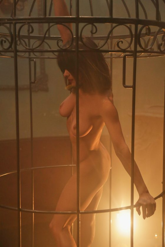 Mia Valentine Nude In Caged Angel Playboy Model Pictures