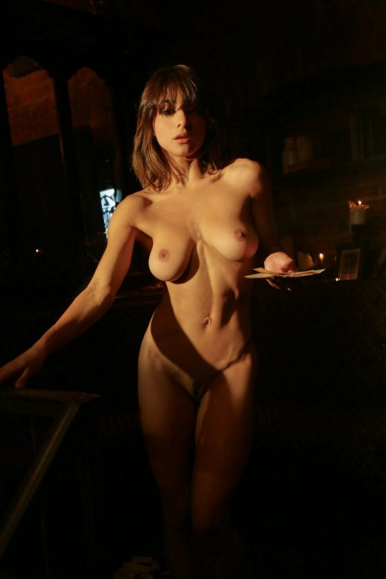 Mia Valentine Nude In Magic in Motion Playboy Model Photos