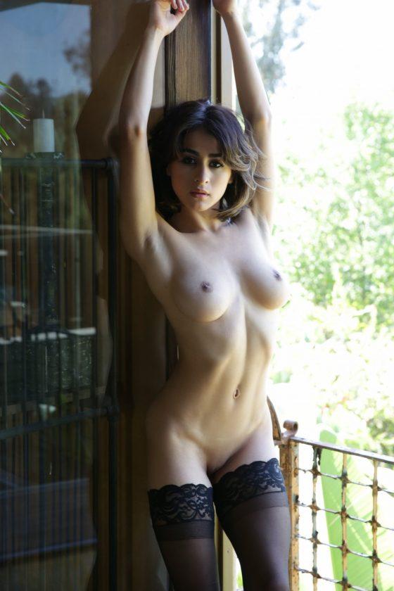 Mia Valentine Nude In Tantalizing Tease Playboy Model Photos
